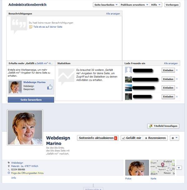 FB-Seite erstellen