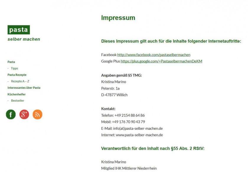 Impressum Original