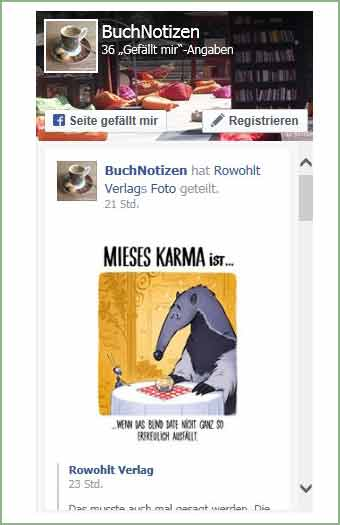 Facebook Widget mit Feed