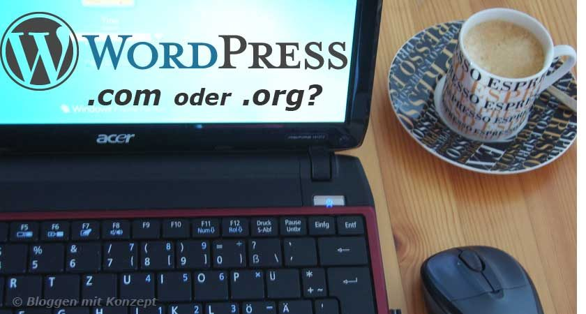 Unterschied WordPress.com und WordPress.org
