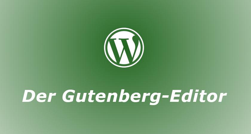 Logo Serie Gutenberg-Editor